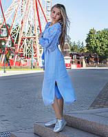 Сукня «Чернігівщина» льон