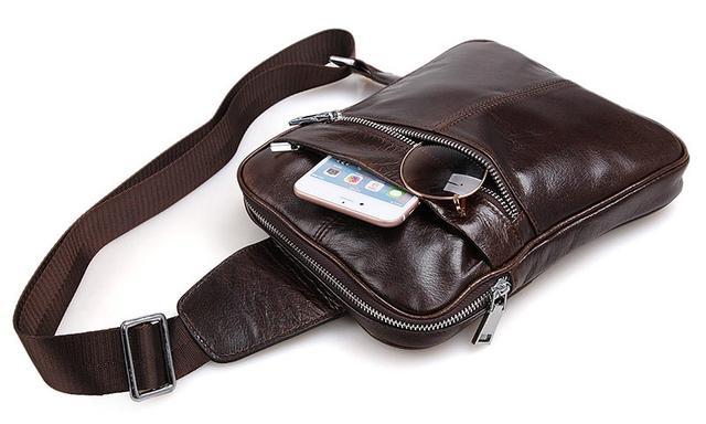 Мужские кожаные сумки слиг, какие они  948fff010f4