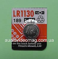 Батарейка щелочная Maxell G12 189  LR1130 Alkaline 1.5V