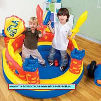Надувной детский игровой центр Intex (интекс) 147*145*76см, 48666 Замок «Пираты» киев, фото 1