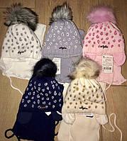 Детский комплект шапка+ шарф