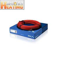 Теплый пол DEVI двухжильный кабель DEVIflex 18T 37 м - 4,6 кв.м