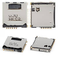 Сим коннектор для Samsung S5230 Sim + MMC/ C3010/ KP500
