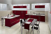 Кухни встроенные с крашенными фасадами от ведущих производителей