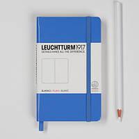 Блокнот Leuchtturm1917 Карманный Васильковый В точку (9х15 см) (339600), фото 1