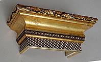 Карниз для штор, под сусальное золото 2