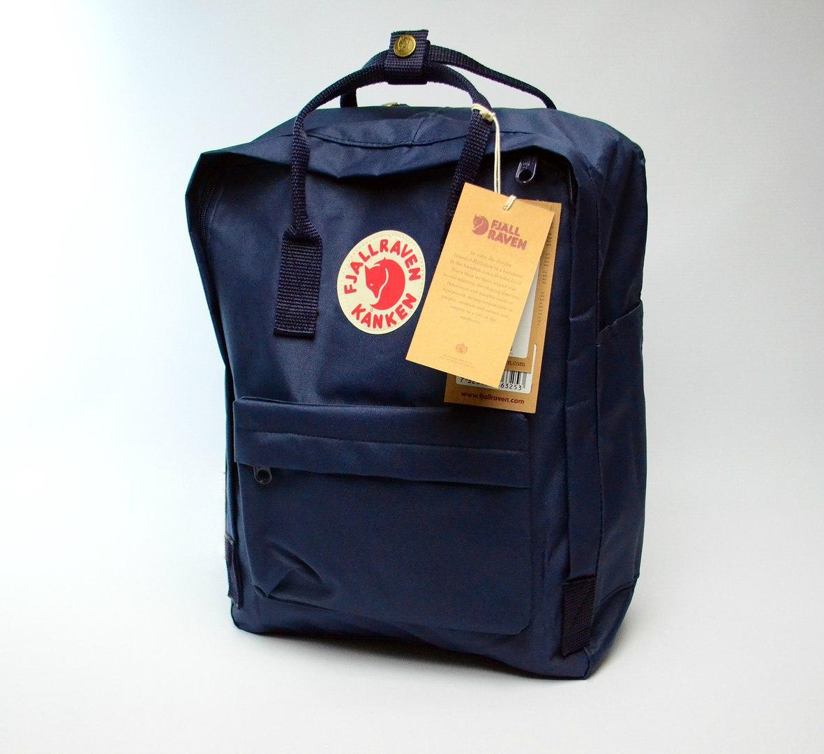 Рюкзак Fjarvallen Kanken Classiс navy blue (реплика)