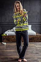 Женская пижама из флиса. Польша. KEY LHS 987