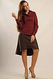 Блуза Пинк цвет бордо Ри Мари 42-50р., фото 2