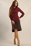 Блуза Пинк цвет бордо Ри Мари 42-50р., фото 3