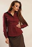 Блуза Пинк цвет бордо Ри Мари 42-50р., фото 4