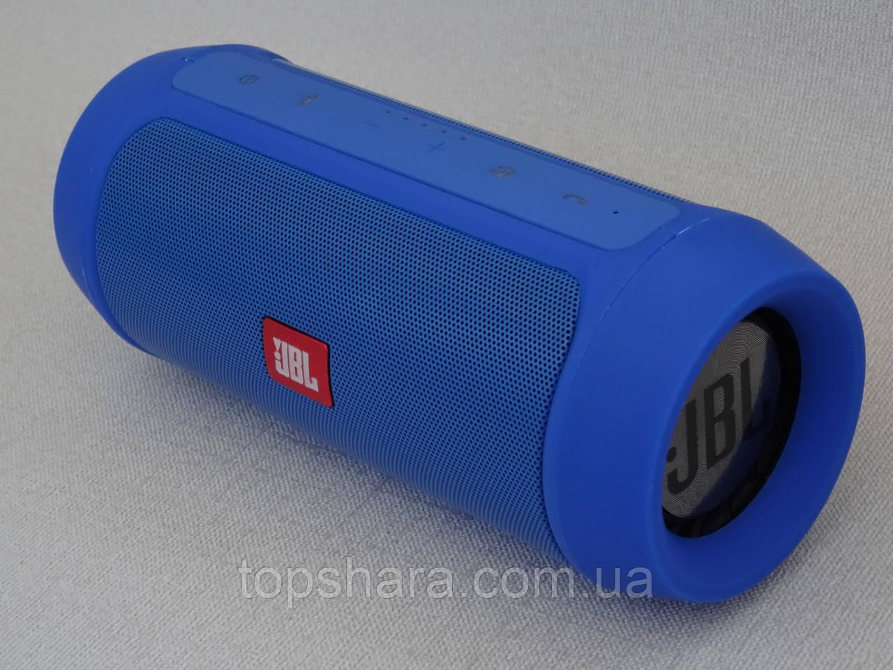 Колонка Bluetooth (блютуз) JBL Charge 2+ колір синий