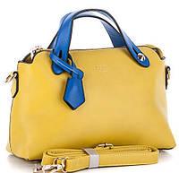Женская сумка клатч 6831-1 yellow-blue брендовые сумки, брендовые клатчи недорого в Одессе