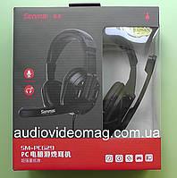 Наушники с микрофоном, гарнитура Senmai PC629