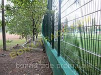 Панельный забор «Кольчуга»