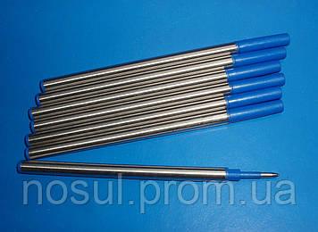Стержень шариковый 0, 5мм синий, паста для бизнес ручек, тип паркер (ролл, ампула, стержень, чернила)