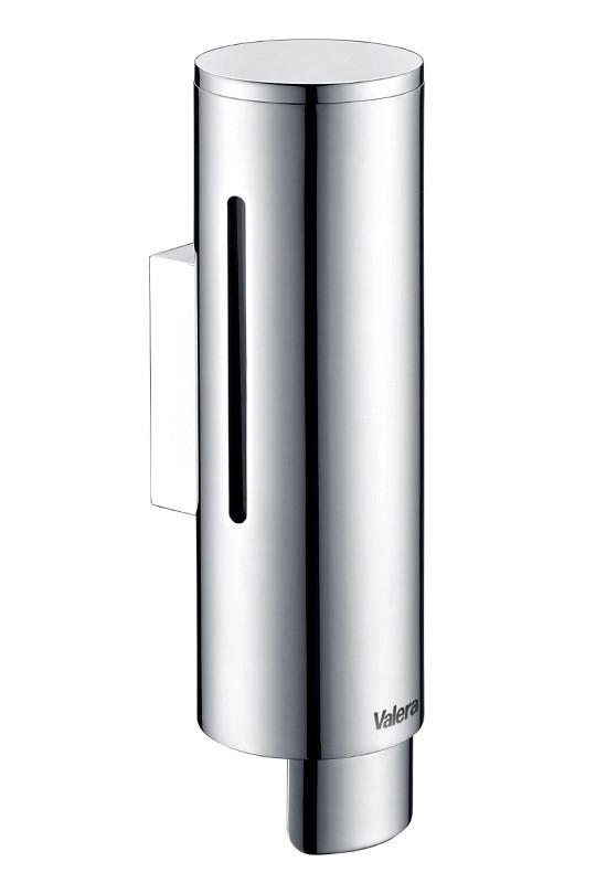 Дозатор жидкого мыла Valera RIO 350, сплав цинка (литье под давлением)