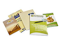 Блокноты, буклеты, листовки