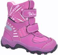 Термо ботинки для девочек B&G артикул R181-40P