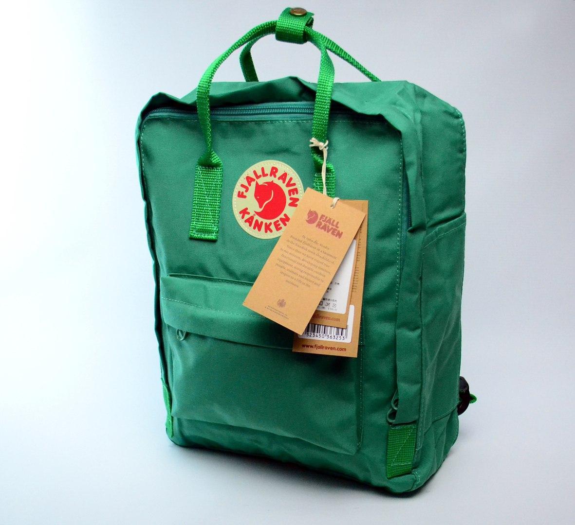 Рюкзак Fjarvallen Kanken Classiс Green (реплика)