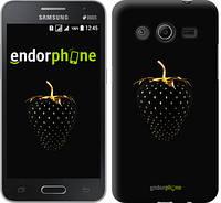 "Чехол на Samsung Galaxy Core 2 G355 Черная клубника ""3585c-75-4074"""