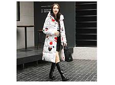 Пальто женское со звёзды, камуфляж, фото 3