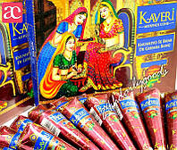 "Натуральная коричневая хна ""Kaveri"" для мехенди"