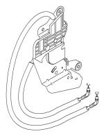 Механізм приводу замків правих дверей Opel Combo (2001-2011)