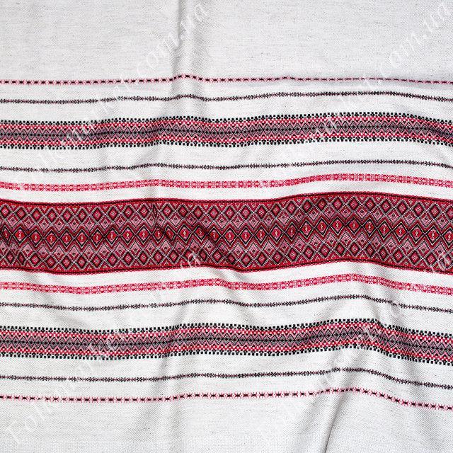 Ткань с украинской вышивкой Карпати ТДК-35 1/1