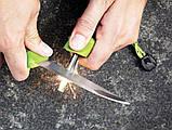 Нож + огниво Light My Fire FireKnife Pin-pack Lime (LMF 12110510), фото 2