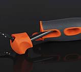 Нож + огниво Light My Fire FireKnife Pin-pack Lime (LMF 12110510), фото 9