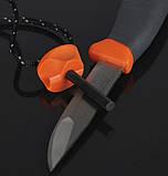 Нож + огниво Light My Fire FireKnife Pin-pack Lime (LMF 12110510), фото 10
