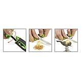 Нож + огниво Light My Fire FireKnife Pin-pack Lime (LMF 12110510), фото 3