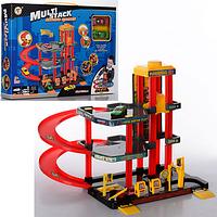 Игровой набор детский гараж парковка. Гараж детский парковка.