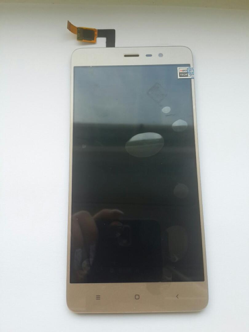 Дисплей для Xiaomi Redmi Note 3 Pro Special Edition золотистий, з тачскріном (149мм)
