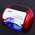 Профессиональная Уф лампа Beauty Nail 18K CCFL LED 48W K18, фото 3