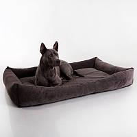 Dog Fancy Caviar - Причудливый (мягкий вельветовый лежак для собак)