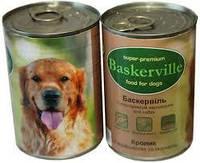 Консервы для собак Baskerville Кролик с вермишелью и морковью