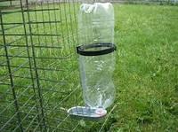 Поилка для кроликов пластиковый