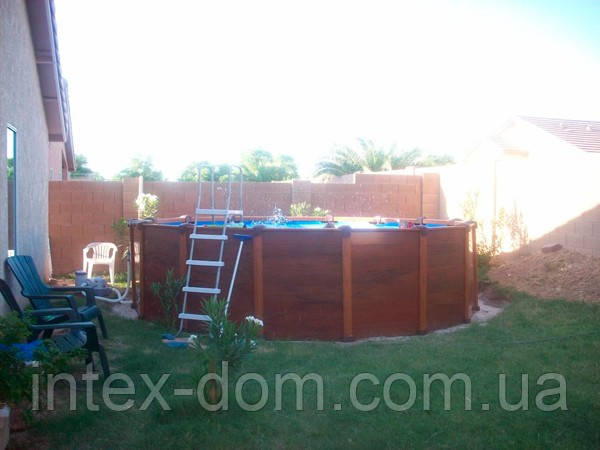Каркасный бассейн Intex  54972 Интекс 478 см х 124 см. киев