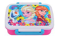 """Контейнер для еды """"Frozen"""" с разделителем 705778"""
