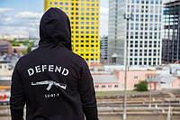 """Толстовка """"Defend back"""" , фото 1"""