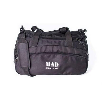 """Спортивна сумка """"TWIST"""" (чорна), фото 2"""
