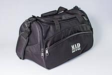 """Спортивна сумка """"TWIST"""" (чорна), фото 3"""