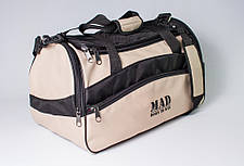 "Спортивная сумка ""TWIST"" (бежевая), фото 3"