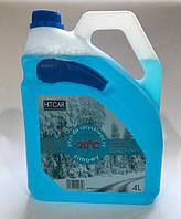 Омыватель стекла зимний HITCAR (морской бриз) 4 литра -20С