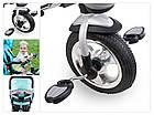 Велосипед-коляска трехколесный Lionelo TIM PLUS Green, фото 6