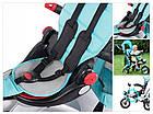 Велосипед-коляска трехколесный Lionelo TIM PLUS Green, фото 7