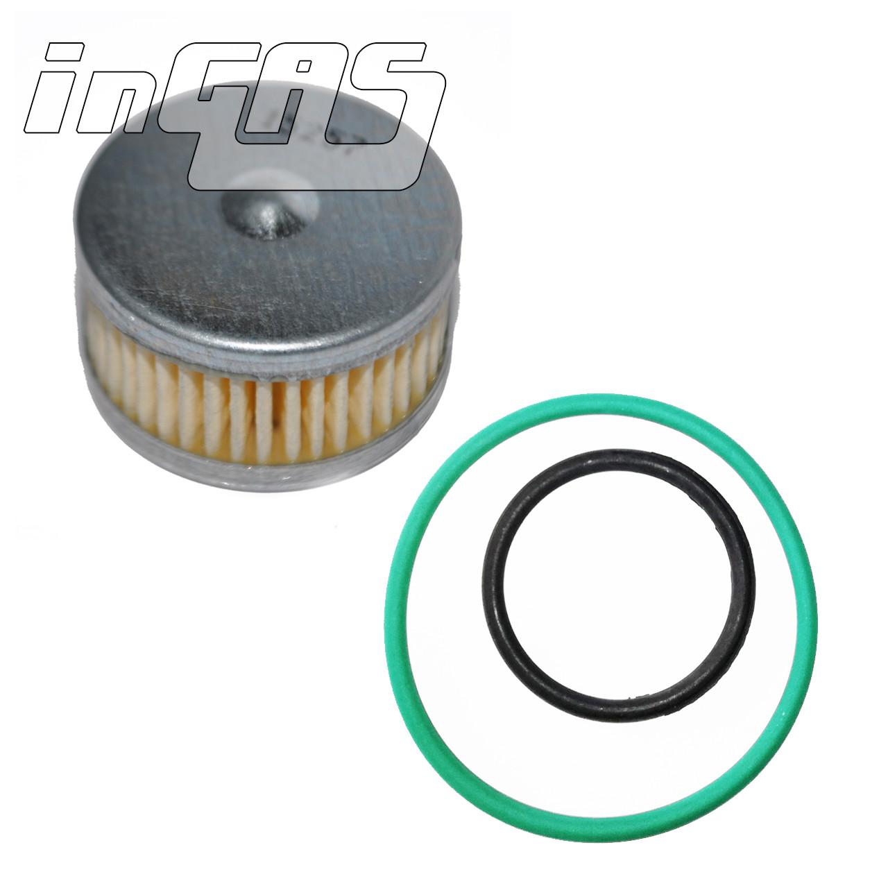 Фильтроэлемент бумажный для редуктора Tomasetto, с уплот. кольцами