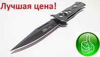 Нож выкидной складной карманный полностью стальной Columbia М2/F-885 с предохранителем